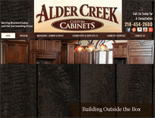 Tablet Preview of aldercreekcabinets.net
